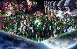 Green Lantern Corps by AdamWithers
