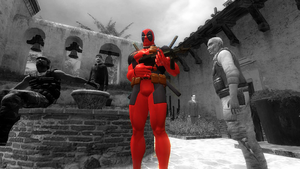 Deadpool in Old Times by DENDEROTTO
