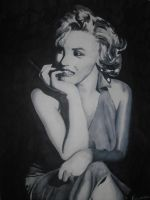 Marilyn Monroe by Cippi15