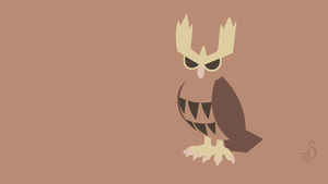 Noctowl by Krukmeister