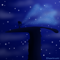 Daily Art - 074 - Guardian of the moon by SuperSiriusXIII