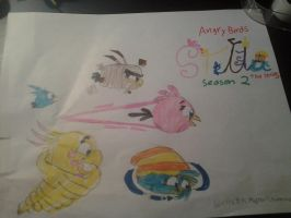 my new angry birds stella series season 2 poster by bluejay5678