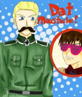 DAT MOOSTACHE by TheDeathGame101