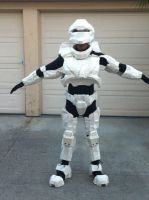 Halo 3 spartan cosplay so far by W4RH0US3