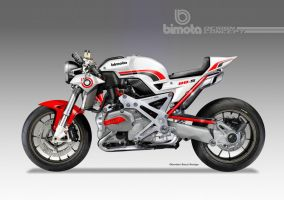 BIMOTA BB-4 S Cafe Fighter Concept # 3 by obiboi