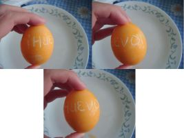 Attempted Creative Easter Eggs- Huevo by Ambrosial-Wolf