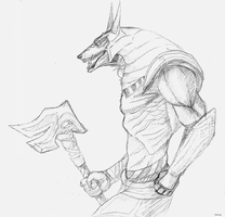 Nasus sketch by thelilcreep