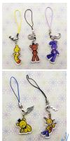 Charms FNAF new onces by I-Am-Bleu