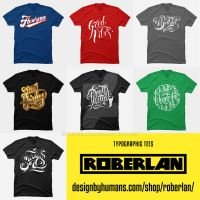 Type tees on Design by Humans by roberlan