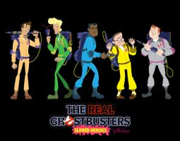 Ghostbusters: Slimed Heroes by tunasammiches