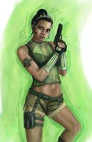 Disney Fighter - Tiana by joshwmc