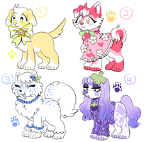 Froot Puppy Adopts (OPEN) by sylfami
