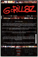 Gorillaz Journal Skin by Vinded