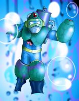 Bubble Man by Rootay