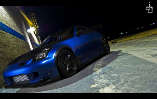 . . 350 Z Time Attack . . by j4y-0n3