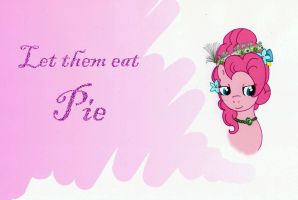 Queen Pinkie Pie by PrincesseDeLamballe