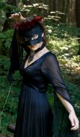 Black Lace Spell by eyefeather-stock