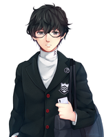 P5 Protag by maesketch