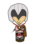 Ezio Auditore - Chibi by anime-girl13
