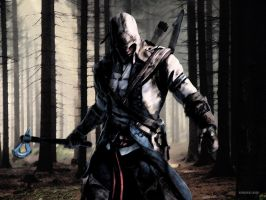 I Own These Woods- Assassin's Creed 3 Wallpaper by amberelaine