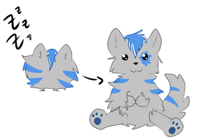 Ball Plushie - Points adopt by xPixe