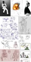 Doodle Dump Spring 2010 by Beanjamish