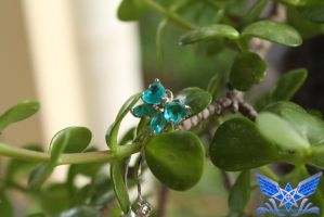 Crystal Butterfly on the Jade by BoboMagroto