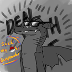 DEAL WITH IT. by Diznits