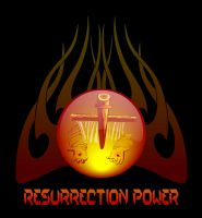 RESURRECTION POWER FIRE SPHERE by vancegraphics