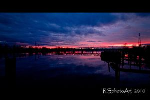 Peaceful Sunset by RSphotoArt
