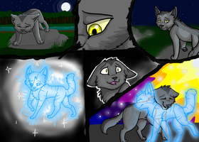 Graystripe and Silverstream by ElectricUmbreon