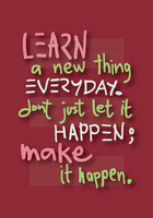 quote - learn by iAmAneleBiscarra