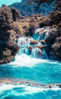 Waterfall. by Karolaxd