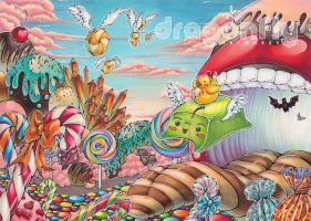 Wubbi's Candy Land by Dragonfly-666