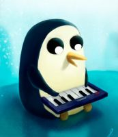 Gunter keyboard by Rodrigues404