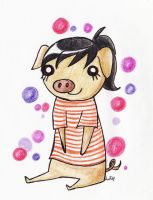 I'm a pig by Lutih