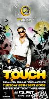 Touch Flyer by justcre8ive