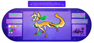Nakoma Refrence sheet by leafeoneve3