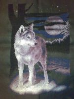 Wolf. Cross Stitch by ouraion