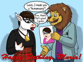 Birthday - Maria The Starcow by Ross-Sanger