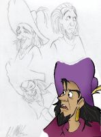 Studies of Clopin by msfeistus