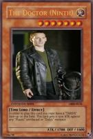 The Ninth Doctor Yu-Gi-Oh by mangazach13