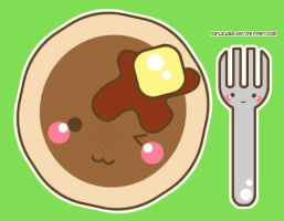 Pancakes. by tofucube