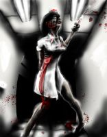 Zombie Nurse by cannibalgnome