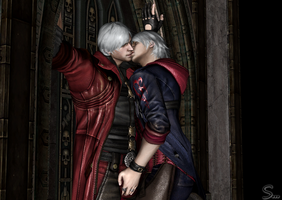 Just another kiss by DMC-fan-DMC