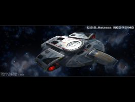 U.S.S. Astraea by Abriell