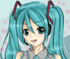 Hatsune Miku - Digital by dewdrop01