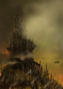 Hive City Spires ( W40K) by derbz