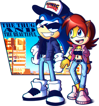 The thug and the beautiful by FOX-POP