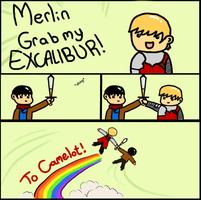 Merlin Grab My Meme by Letta463